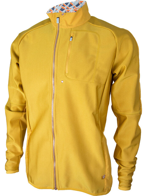 """Sweare M's XC 50/50 Jacket yellow spark"""